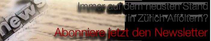 Newsletter Portal Zürich-Affoltern